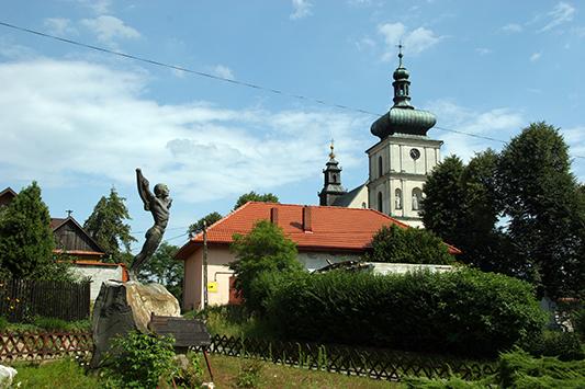 Odporyszów - sanktuarium i pomnik Jana Wnęka - Appen Karpaty|Hardlight