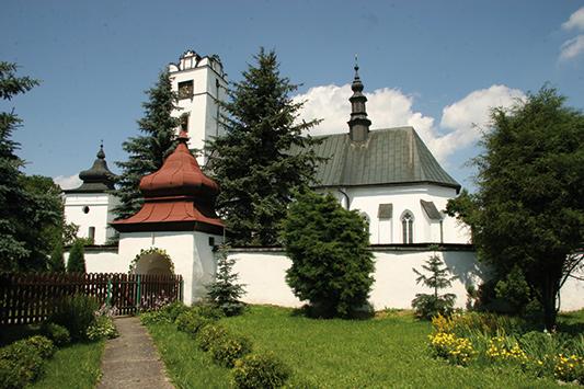 Frydman, kościół św. Stanisława <br/> Appen Karpaty | Hardlight