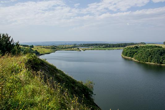 Gacki koło Pińczowa, słone jeziorka - Appen Karpaty|Hardlight